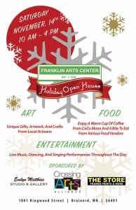 Holiday Open House Poster